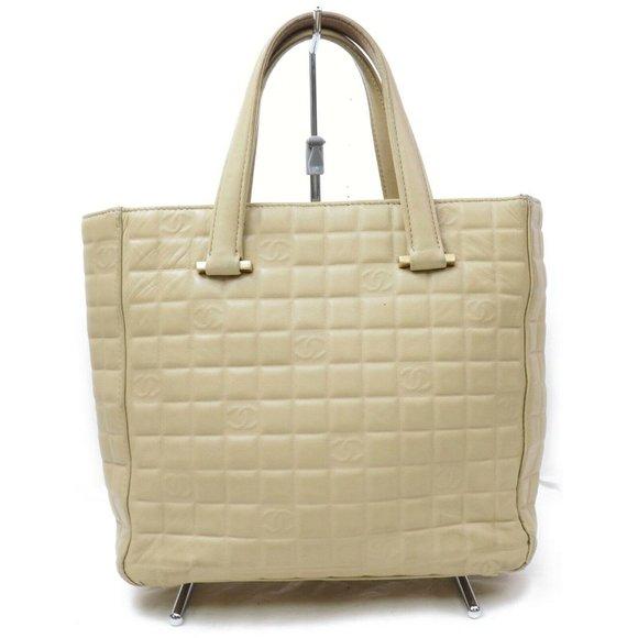CHANEL Handbags - Chanel Hand Bag Beiges Lamb Skin